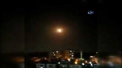 hava saldirisi -  -Suriye, İsrail'in hava saldırısını püskürtü