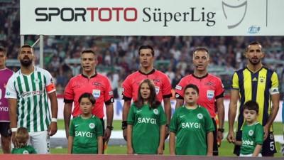 Atiker Konyaspor - Fenerbahçe maçından kareler -1-