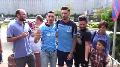 Burak Yılmaz, Trabzonspor'un Alanya kafilesinde yer almadı