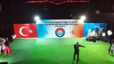 Dünya ve Suriye Türkmenleri Buluşma Şöleni sona erdi - HATAY