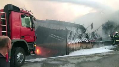 Fabrika yangını - KAHRAMANMARAŞ