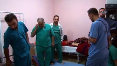 - İdlib'te güvenlik gerekçesi ile yer altına kurulan hastane Rus jetleri tarafından bombalandı - İdlib'te Rus uçakları tarafından vurulan Has Hastanesinde tedaviler devam ediyor