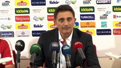 devre arasi - Mehmet Ali Karaca: 'İstekli ve arzuluyduk ama kazanamadık'