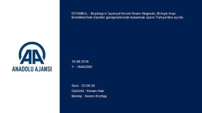 Negredo, Beşiktaş'tan ayrılıyor - İSTANBUL