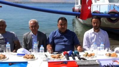 """VASKİ Genel Müdürü Ali Tekataş:""""Akdamar Adası Kasım ayında suya kavuşacak"""""""