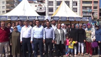 AK Partililerden Adnan Menderes'in idam edilmesine tepki