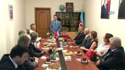 isgal -  Anadolu Aydınlar Ocağı, Kafkas İslam Ordusu'nun Bakü'yü İşgalden Kurtarmasının 100. Yılı Nedeniyle Bakü'de Temaslarda Bulunuyor