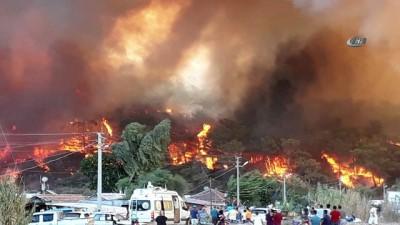yangina mudahale -  - Antalya'da orman yangının felaketi fotoğraflara yansıdı