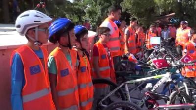 Avrupa Hareketlilik Haftası kapsamında araçlar durdu bisikletler devreye girdi