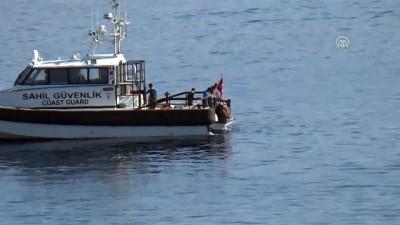 nani - Bodrum'da düzensiz göçmenlerin bulunduğu lastik bot battı (2) - MUĞLA