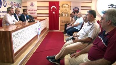 Eğitim-Bir-Sen Bursa Şube Başkanı Mustafa Sarıgül: 'Yeni bir heyecan, yoğun çalışma dönemi ve özverilerle dolu bir süreç başladı'