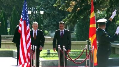 'Rusya, Makedonya'daki referandumu engellemeye çalışıyor' - ÜSKÜP
