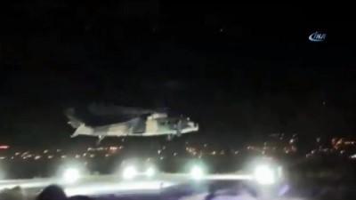 Şırnak'ta yaralanan vatandaş askeri helikopterle hastaneye sevk edildi