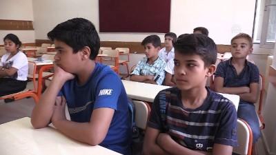 Suriyeli öğrencilerin okul heyecanı - ŞANLIURFA