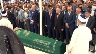 cenaze -  TBMM Başkanı Binalı Yıldırım, dayısının eşinin cenaze törenine katıldı