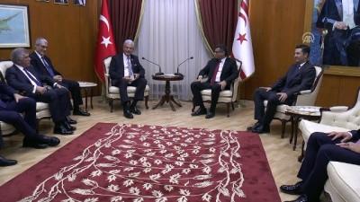 TBMM Dışişleri Komisyonu Başkanı Bozkır'dan, KKTC Başbakanına ziyaret - LEFKOŞA