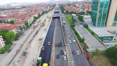 Başkent'te kesintisiz trafik dönemi başladı
