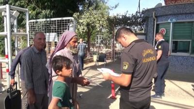 Bayram için ülkelerine giden Suriyelilerin yarısı geri döndü