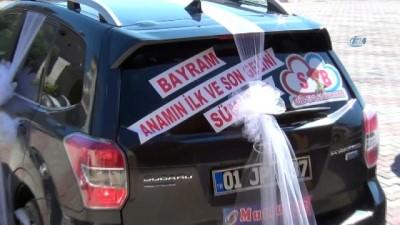 Belediye başkanının makam aracı engelli çiftin gelin arabası oldu Haberi