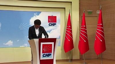 CHP'den 'tarım' uyarısı - ANKARA