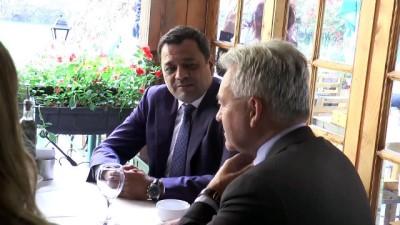 İngiltere'nin Avrupa'dan Sorumlu Devlet Bakanı Duncan Makedonya'da - ÜSKÜP
