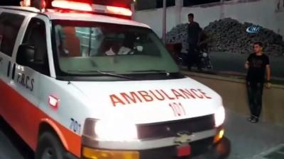 hava saldirisi -  İsrail Gazze'yi vurdu: 2 Filistinli hayatını kaybetti