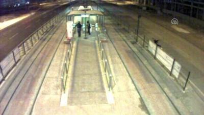 Kart dolum cihazından hırsızlık anı güvenlik kamerasında - GAZİANTEP