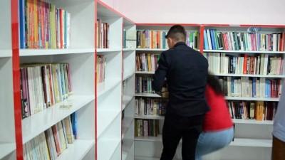 Lise kütüphanesine Afrin şehidinin ismi verildi