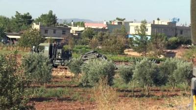 Tank taşıyan tır tarlaya uçtu: 1 yaralı