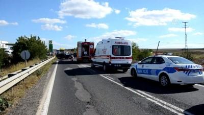 Trafik kazası: 1 ölü, 1 yaralı - TEKİRDAĞ