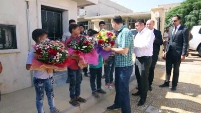 Türkiye'nin Suriye'deki eğitime desteği sürüyor - AZEZ
