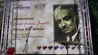 'Uluslararası Yahya Kemal Beyatlı Şiir Şöleni' - ÜSKÜP