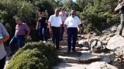 Vali Demir, Taşyaran Tabiat Parkı'nı gezdi - UŞAK