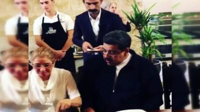 Venezuela Devlet Başkanı Maduro Nusr-Et'te yemek yedi