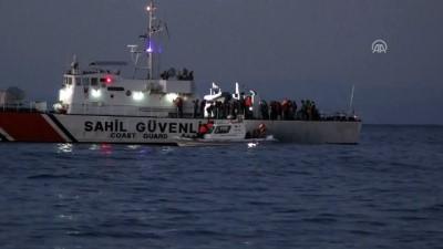 105 düzensiz göçmen yakalandı - ÇANAKKALE