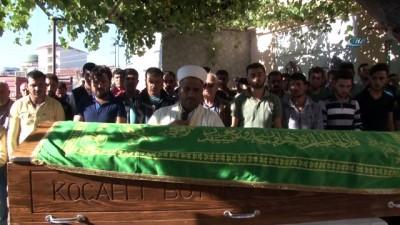 cenaze -  Alevlerin arasında cansız bedenlerine ulaşılan 2 çocuk toprağa verildi