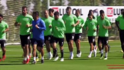 Atiker Konyaspor'da Kayserispor maçı hazırlıkları - KONYA