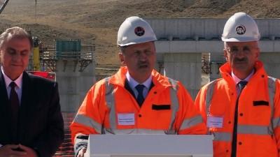 """Bakan Turhan: """"(Ankara-Niğde Otoyolu) Projeyi 2020 yılı içerisinde hizmete almayı hedefliyoruz"""" - ANKARA"""