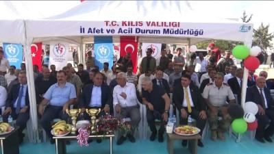 Çobanbey'de Bölge Adliyesi ile spor tesisi açılışı törenle yapıldı