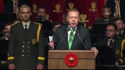 Cumhurbaşkanı Erdoğan: '16 saatte bu millet o FETÖ denen alçak, hain terör örgütüne karşı zaferle kucaklaştı' - ANKARA
