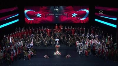 Cumhurbaşkanı Erdoğan: '(İdlib'deki barış süreci) Bu sınırlarımızın ötesinde bir barışa adımdır' - ANKARA