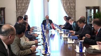 Dışişleri Bakanı Çavuşoğlu, Irak Türkmen Cephesi Başkanı Salihi ile görüştü - ANKARA