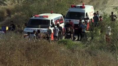 İsrail'den Gazze sınırındaki gösterilere müdahale: 5 yaralı