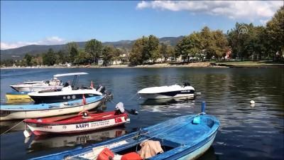 İznik Gölü'ndeki su seviyesi - BURSA