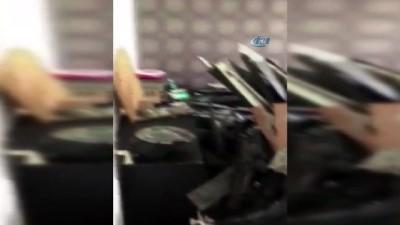Lüks araçların yedek parçalarını çalan hırsızlara operasyon İzle