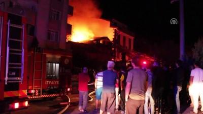 Suriyeli ailenin evinde yangın: 2 ölü, 3 yaralı - KOCAELİ