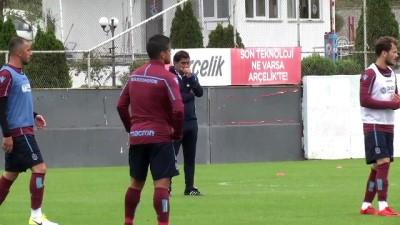Trabzonspor'da, Göztepe maçı hazırlıkları - TRABZON