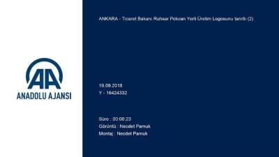 Yerli üretim logosu - ANKARA