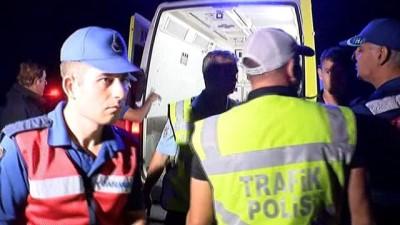 Afyonkarahisar'da otobüs kaza yaptı: 2 ölü, 30 yaralı