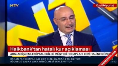 Halkbank Genel Müdürü Arslan: 1763 müşteri 4,6 milyon dolarlık işlem gerçekleştirdi